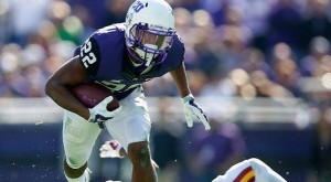 TCU is favored over Arkansas at home Saturday.