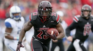 RB Brandon Radcliff has been somewhat overshadowed with the pure dominance of QB Lamar Jackson this season.
