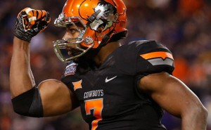 Oklahoma State is a touchdown favorite against Kansas State Saturday in Stillwater.