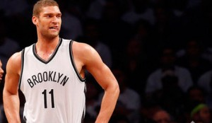 Brook Lopez is fighting hard to keep the Nets in games.