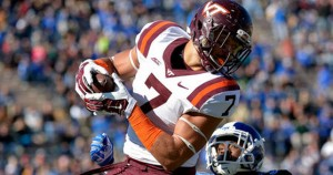 Dual-threat back Bucky Hodges has 81 total yards offense in two games.