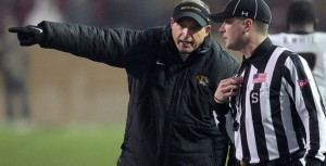Gary Pinkel decided it was time for a QB switch for Mizzou and South Carolina is a good team to experiment on probably.