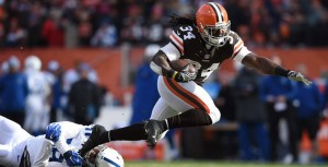 Isaiah Crowell rushed for 65 yards and a TD in Week 1, while coming up with four first downs.