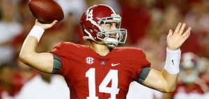 Alabama is a road favorite against Texas A&M in a battle of top ten SEC contenders.