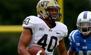James Connor and the Panthers are 4.5 point favorites over Penn State in Week 2 College football odds at 5dimes.
