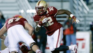 Jon Hillman enters his sophomore season and will be the No. 1 ball carrier for the Boston College Eagles this season.
