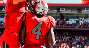 Leonte Carroo bypassed the NFL Draft and is the premier talent on Rutgers' offense.