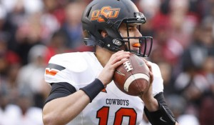Oklahoma State is a 24 point favorite at Central Michigan Thursday.