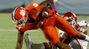 Mike Williams, the multifaceted, versatile beast that has Clemson ranked No. 3 in the nation.