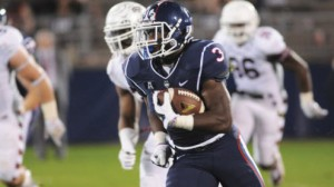Ron Johnson rushed for 91 yards on nine carries, including a 63-yard touchdown run in UConn's Spring game.