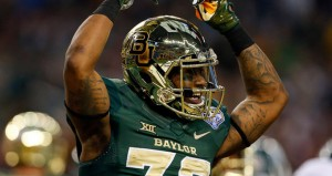 Baylor is a 20.5 point favorite against Texas Saturday.