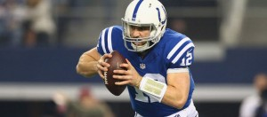 Andrew Luck has the Colts on the brink, again.